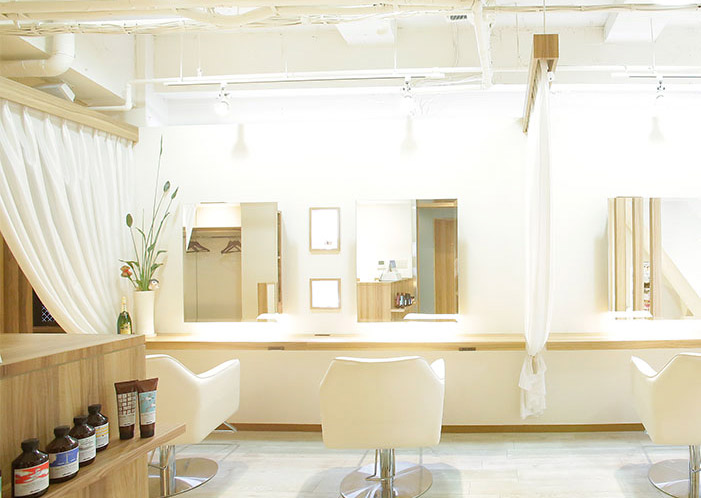 新宿の美容院 LaLarOomo(ララルーモ)コンセプト内観写真